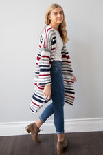 Picture Perfect Striped Cardigan
