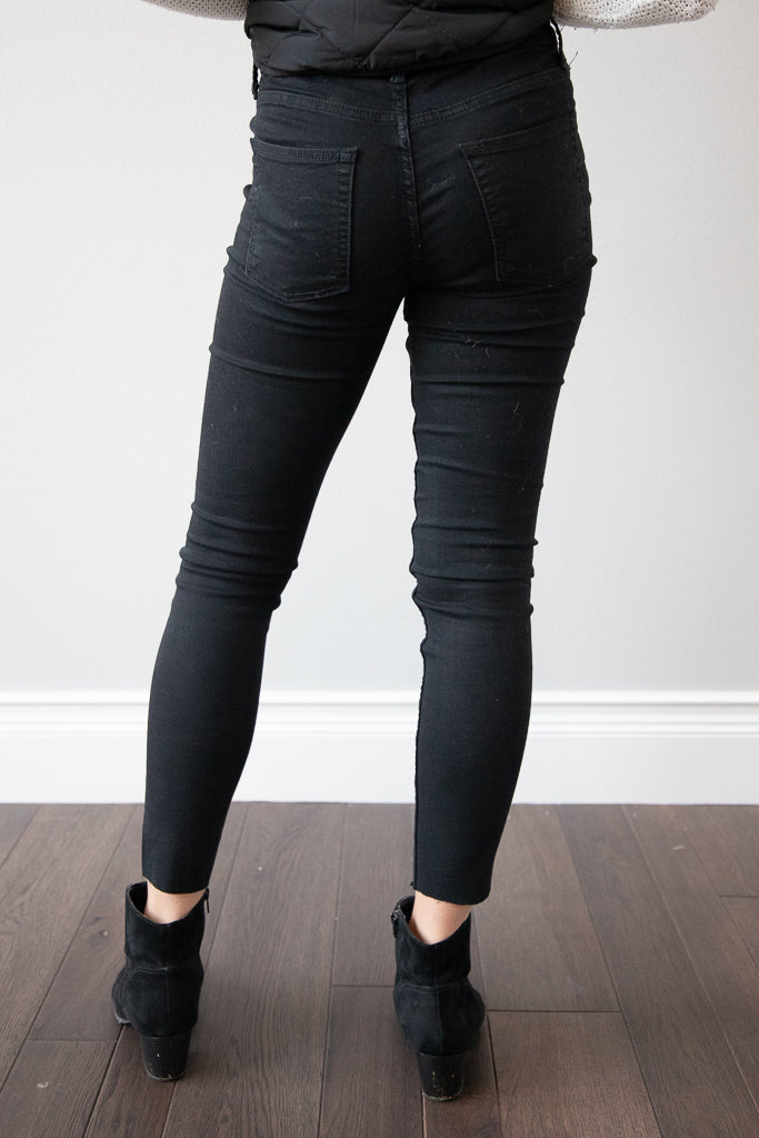 In the Groove Black Jeans