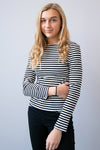 Winter Nights Striped Cardigan