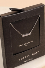 Weekend Bliss Necklace White Gold