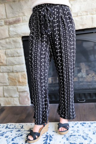 Bohemian Babe Striped Pants