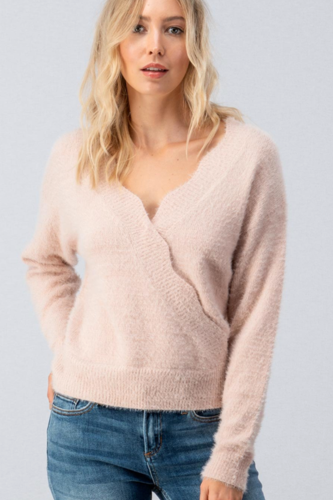 Make me Blush Sweater