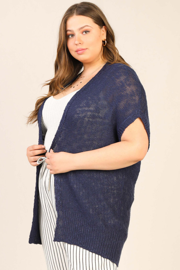 Midnight Sun Cardigan ~ Plus Size