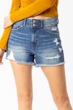 Sooner or Later Denim Shorts