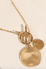 Brunch Date Necklace - Gold
