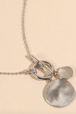 Brunch Date Necklace - Silver