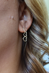 Love You Always Earrings - Gold