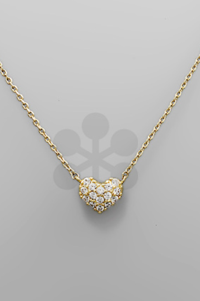Place in my Heart Necklace - Gold