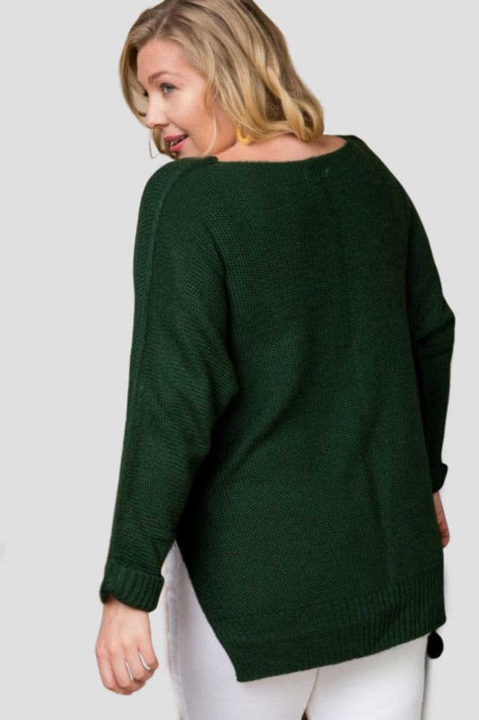 Green with Envy Sweater