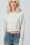 Be Yourself Crop Sweater