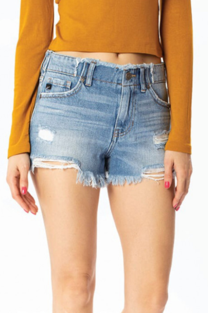 Anything Goes Denim Shorts