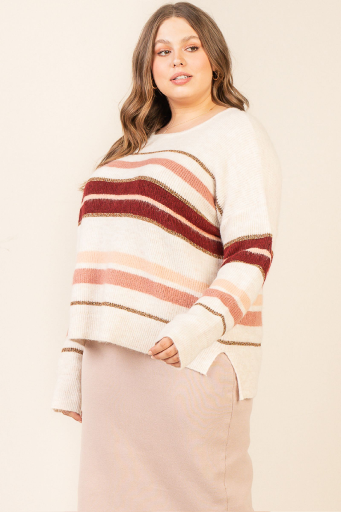 Can't Forget You Sweater ~ Plus Size