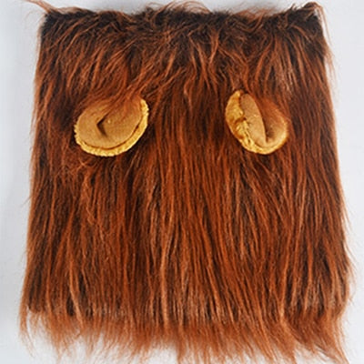 Lion Mane Wig Costume for Dogs