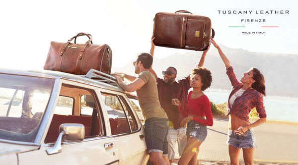 Tuscany Leather Travel Bags and Backpacks