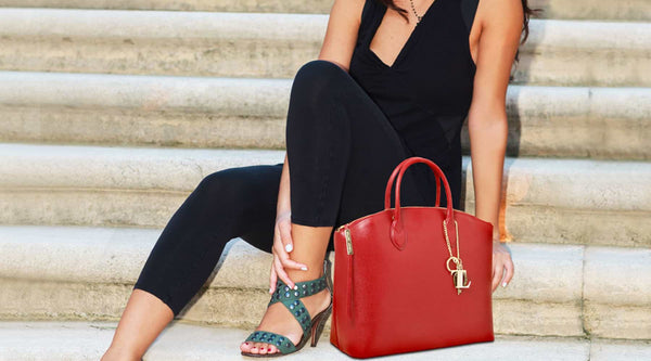 Leather bag colors trending now