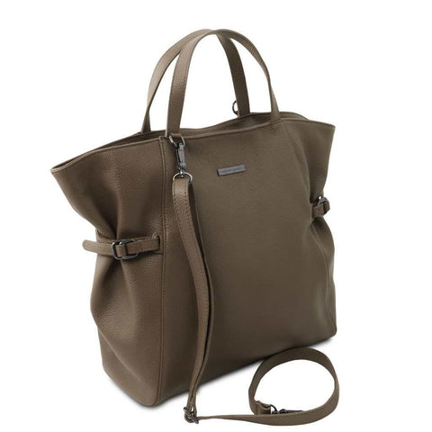 TL Bag - Soft leather shopping bag TL141883