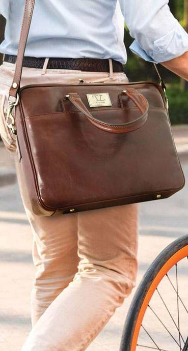 Men Leather Messenger Bags from Tuscany Leather by getanybag e08ec0365debe