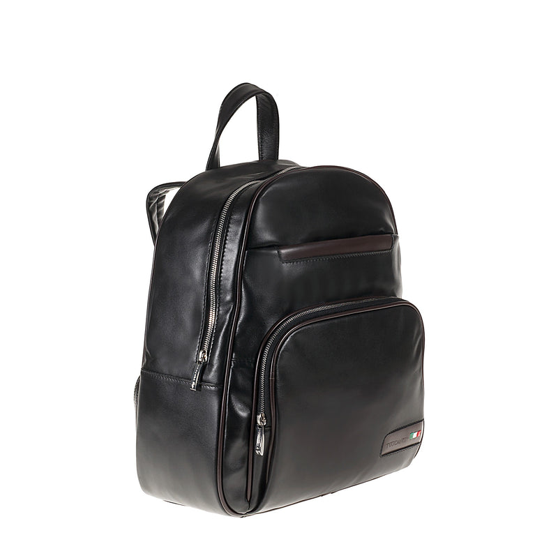 Rucksack real leather Alcor TS20015 Men Bags Tuscans
