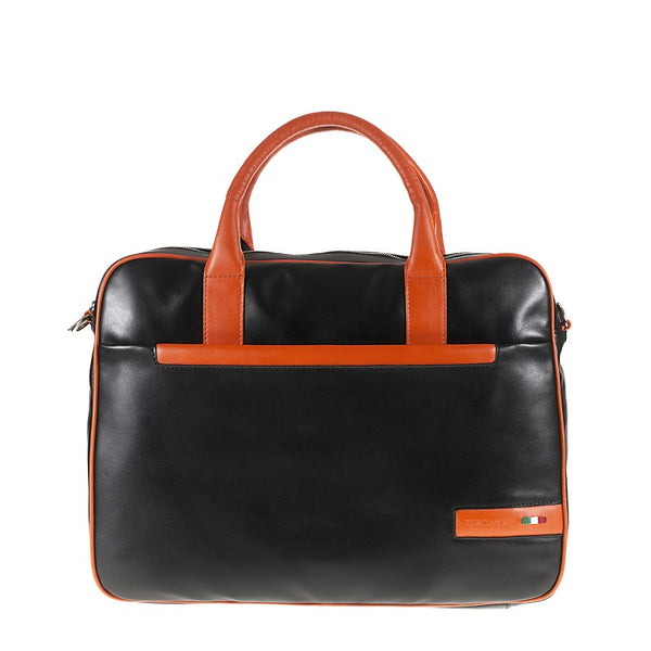 Professional Bag real leather multifunctional compartments Polare TS20007 Business Tuscans