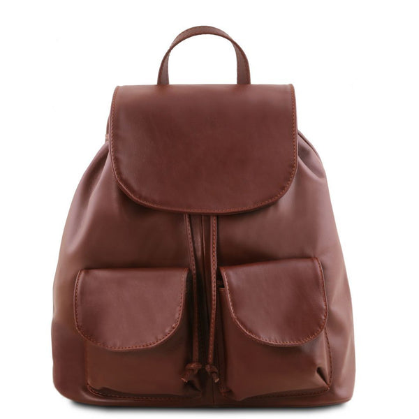 Seoul - Leather backpack Large size TL141507 - getanybag.com