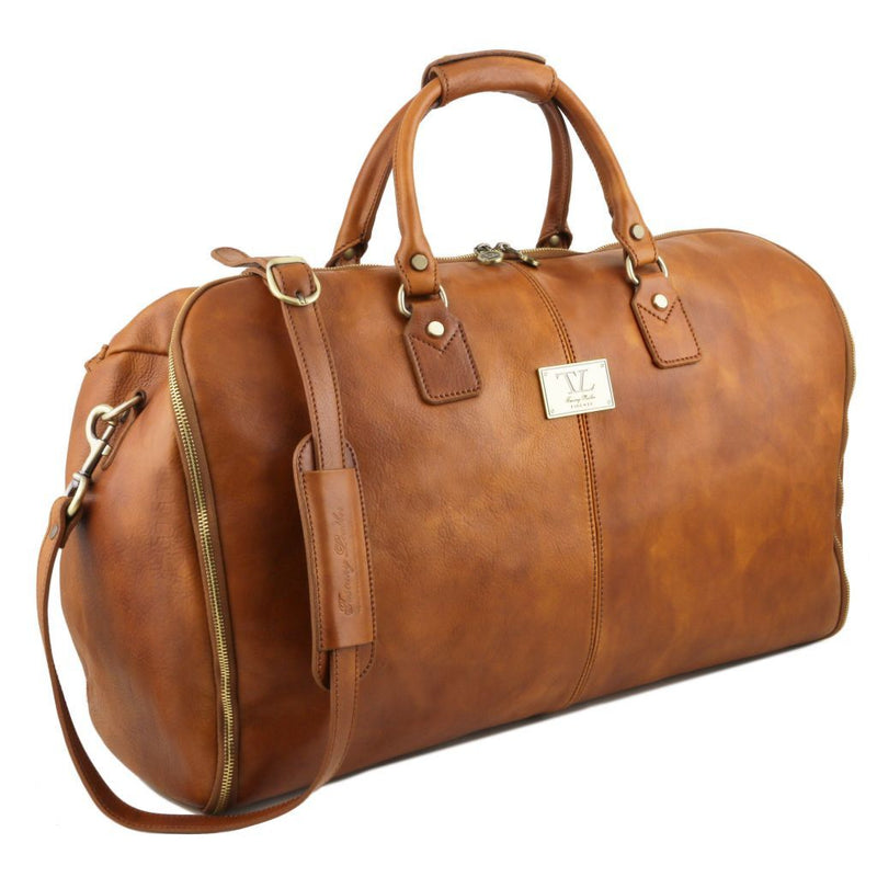 Antigua - Travel leather duffle/Garment bag TL141538 - getanybag.com