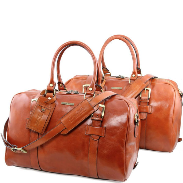 Vespucci - Leather travel set TL141257 Luggage Tuscany Leather