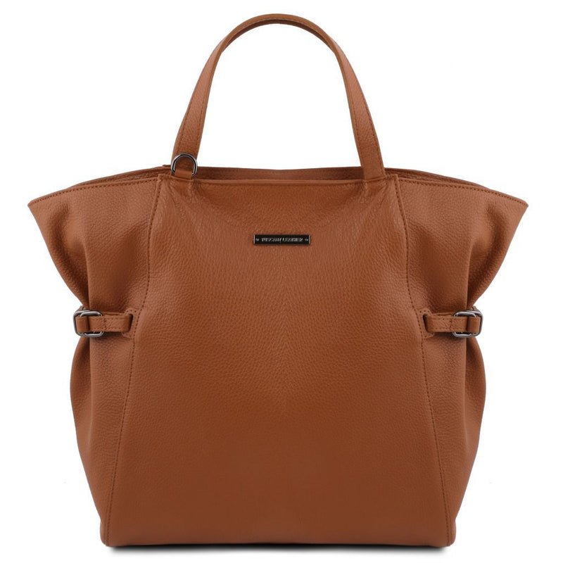 TL Bag - Soft leather shopping bag TL141883 Women Bags Tuscany Leather