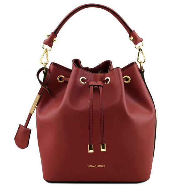Vittoria - Leather secchiello bag TL141531 Women Bags Tuscany Leather