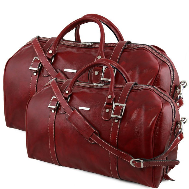 Berlin - Leather travel set TL10175 Tuscany Leather - getanybag.com