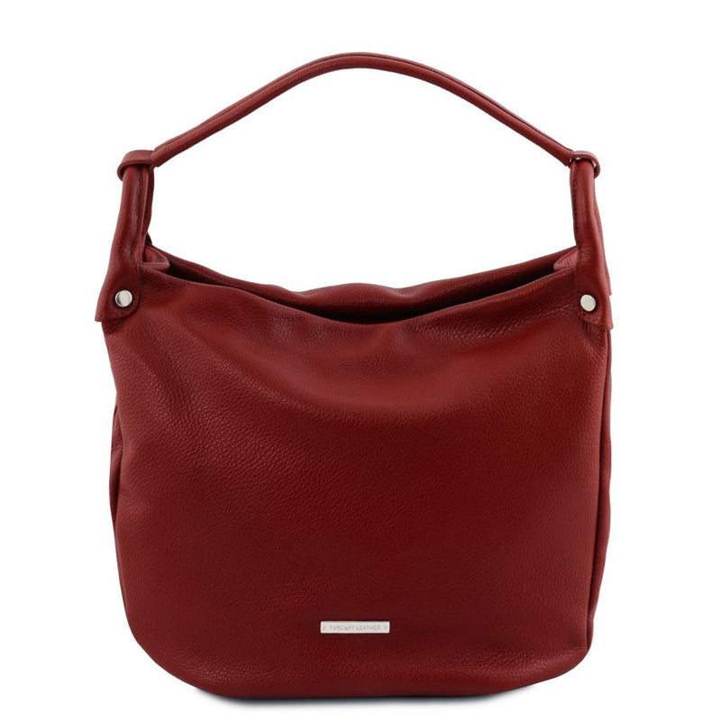 TL Bag - Soft leather hobo bag TL141855 Women Bags Tuscany Leather