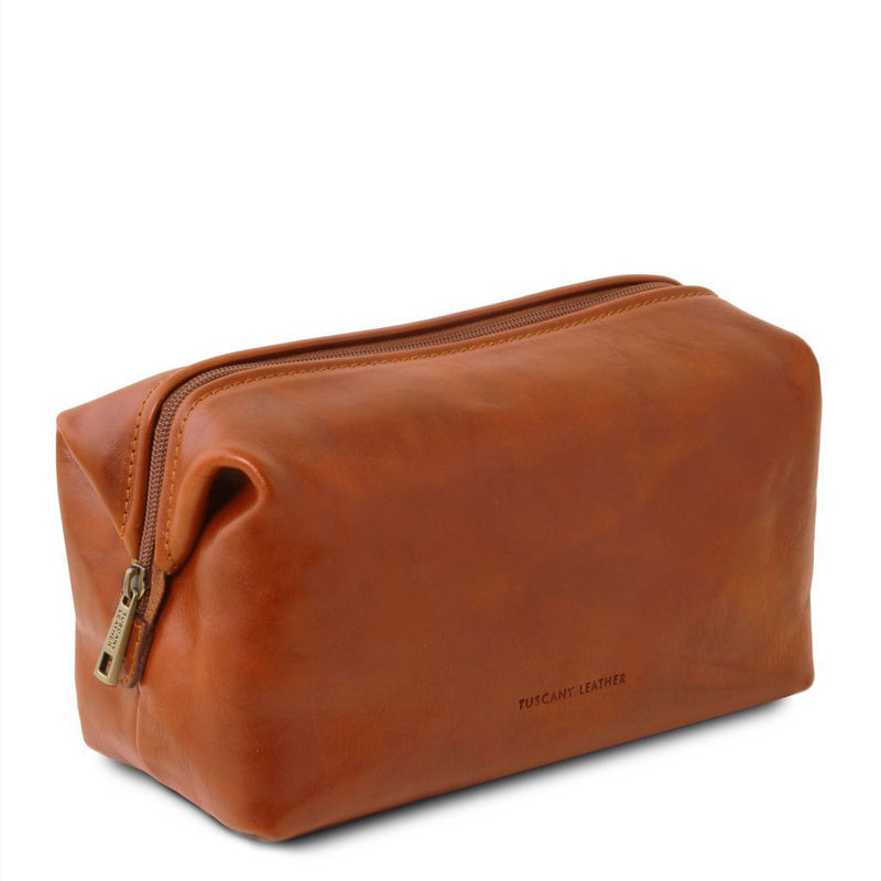 Smarty - Leather toilet bag - Large size TL141219 Luggage Tuscany Leather