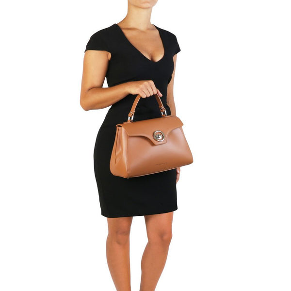 TL Bag - Leather duffel bag TL141824 Women Bags Tuscany Leather