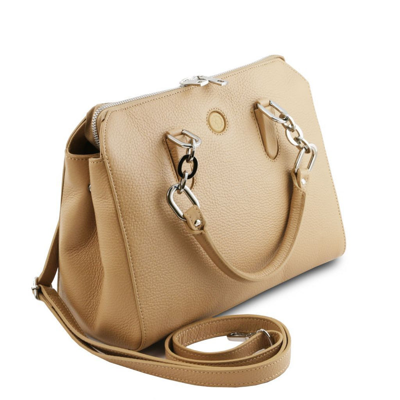 Lilia - Leather handbag TL141876 Women Bags Tuscany Leather