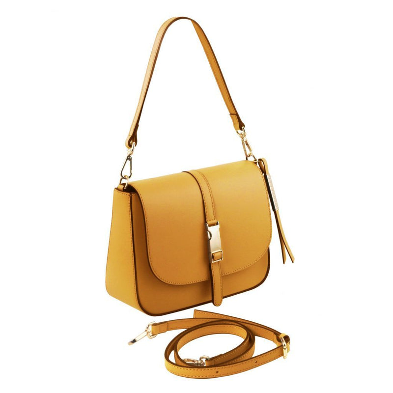Nausica - Leather shoulder bag TL141598 Women Bags Tuscany Leather