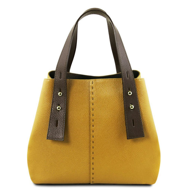 TL Bag - Leather shopping bag TL141730 Tuscany Leather - getanybag.com