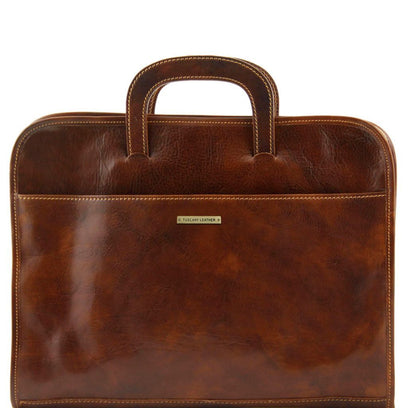 Sorrento - Document Leather briefcase TL141022 Tuscany Leather - getanybag.com