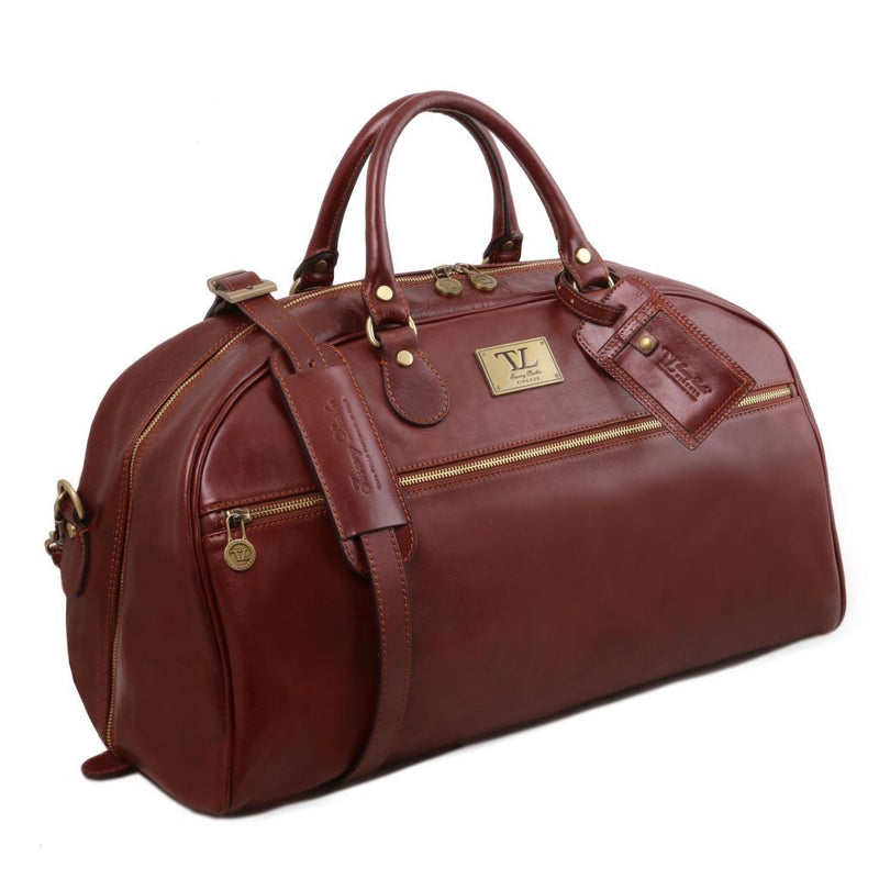 TL Voyager - Leather travel bag - Large size TL141422 Luggage Tuscany Leather