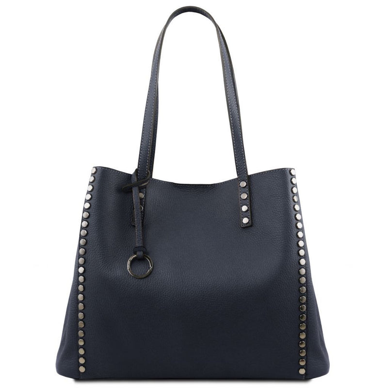 TL Bag - Soft leather shopping bag TL141735 Women Bags Tuscany Leather