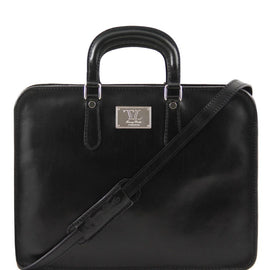 Alba - Leather briefcase for women 1 compartment TL140961 - Getanybag