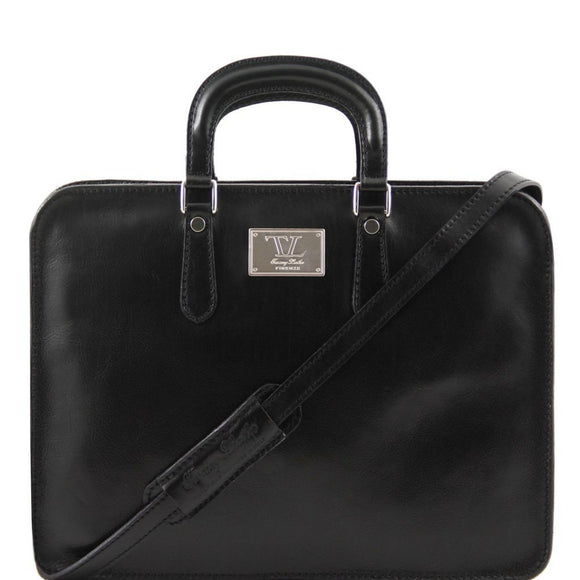 Alba - leather briefcase for women 1 compartment TL140961 Business Tuscany Leather