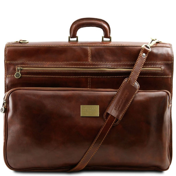 Papeete - Garment leather bag TL3056 Luggage Tuscany Leather