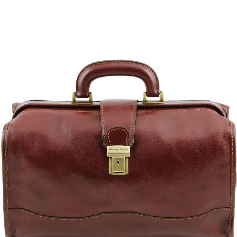 Raffaello - Doctor leather bag TL141852 Business Tuscany Leather