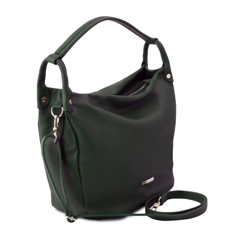 TL Bag - Soft leather hobo bag TL141855