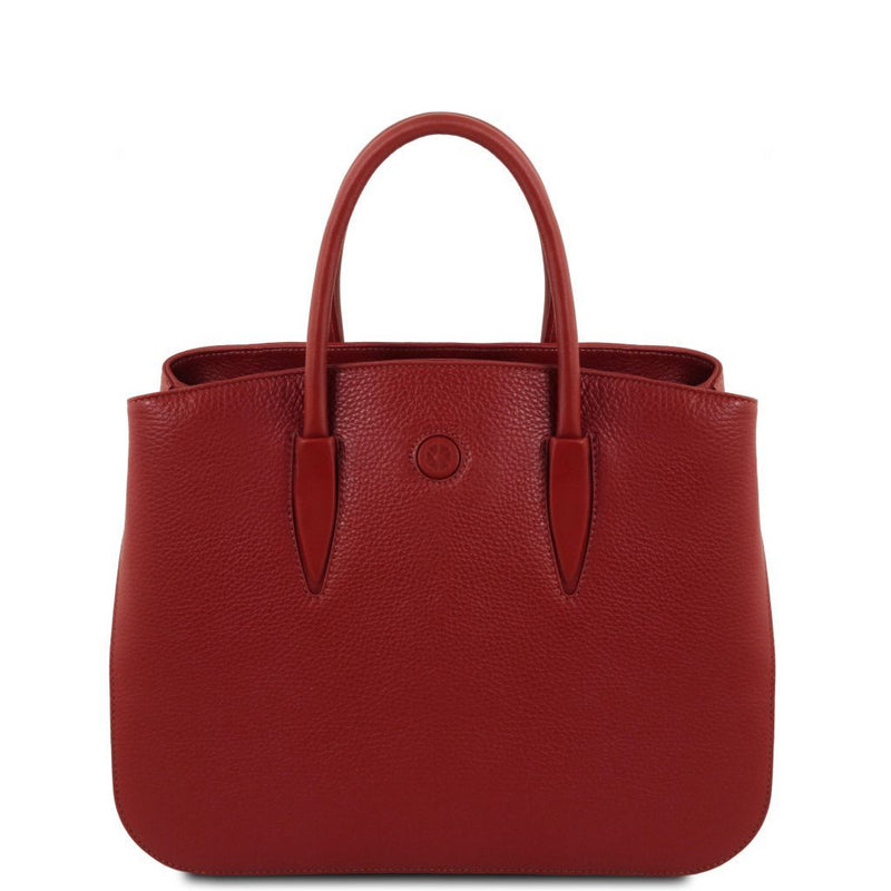 Camelia - Leather handbag TL141728 Women Bags Tuscany Leather
