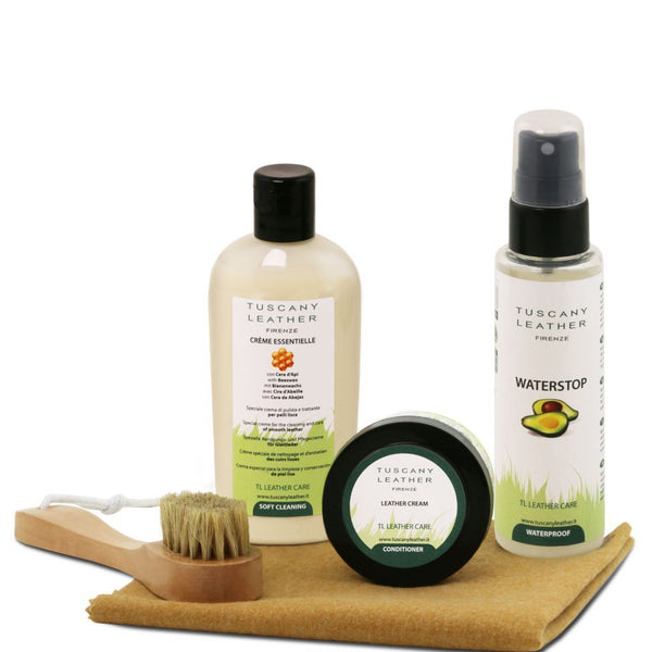 Leather care products complete set TL141388 Leather Care Tuscany Leather