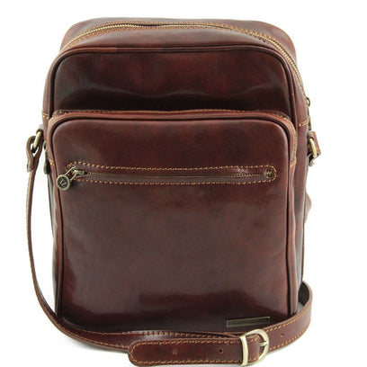 Oscar - Exclusive Leather Crossbody Bag TL140680 Tuscany Leather - getanybag.com