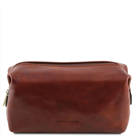 Smarty - Leather toilet bag - Small size TL141220 Luggage Tuscany Leather