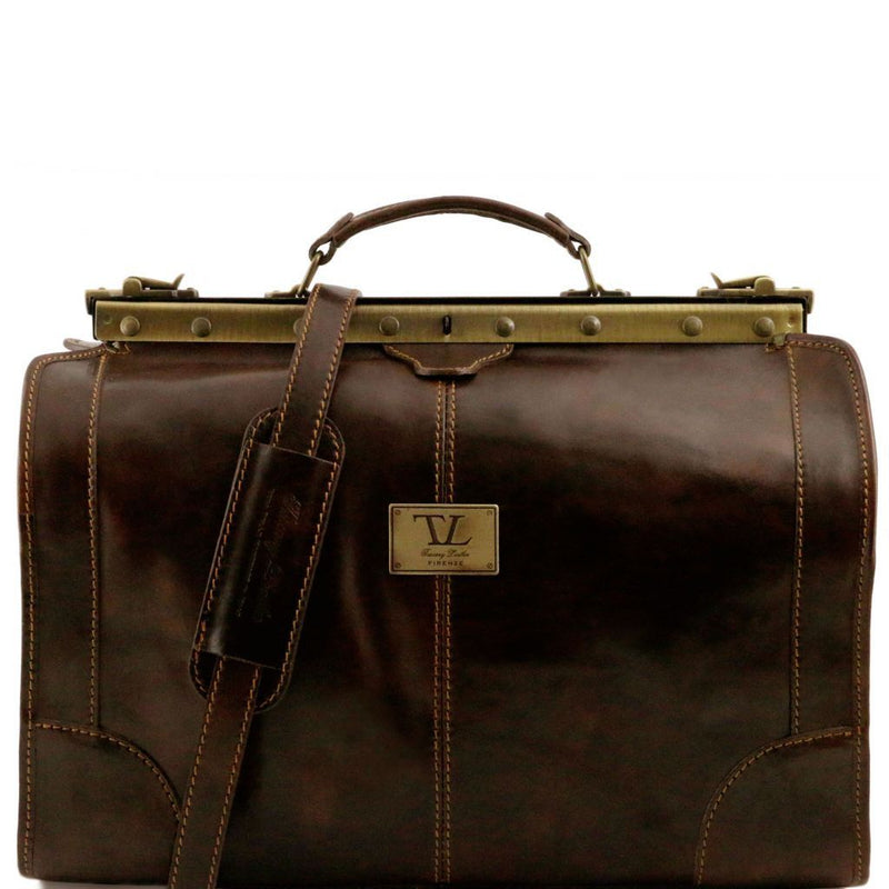 Madrid - Gladstone Leather Bag - Small size TL1023 Luggage Tuscany Leather