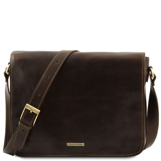 Messenger double - Freestyle leather bag TL90475 - Getanybag