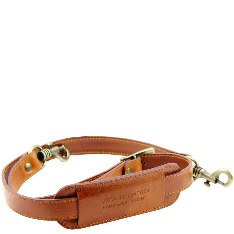 TL Voyager - Adjustable leather shoulder strap TL141929 Spare Parts Tuscany Leather